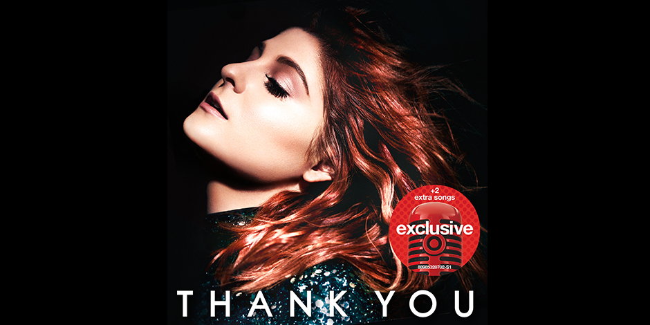 "The cover of Meghan Trainor's new album, ""Thank You."""