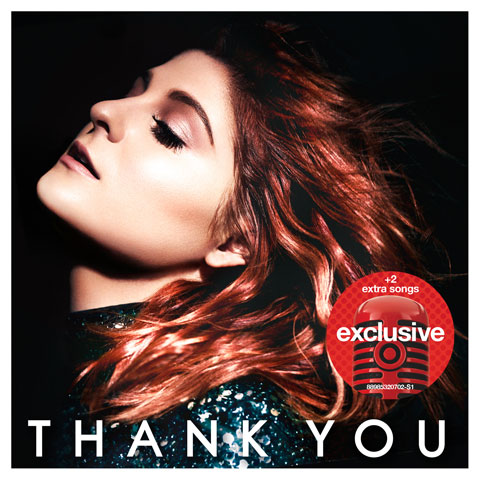 Meghan Trainor is pictured on her album cover.