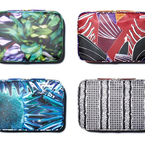 Always Organized makeup bag in four limited-edition patterns