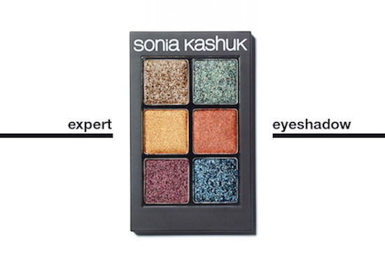 Graphic of Sonia's latest eye shadow palette
