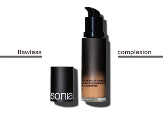 Graphic of the new Soft Focus Matte Foundation