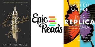 Two Epic Reads picks flank the Epic Reads logo.