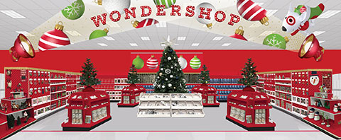 A rendering of the in-store Wondershop floorplan