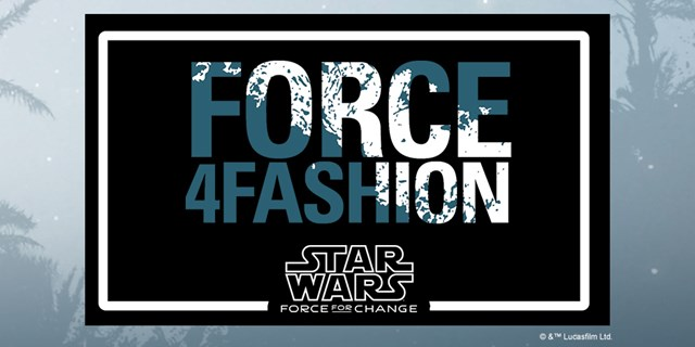 A Force 4 Fashion image appears with the Star Wars logo on a black and muted blue background