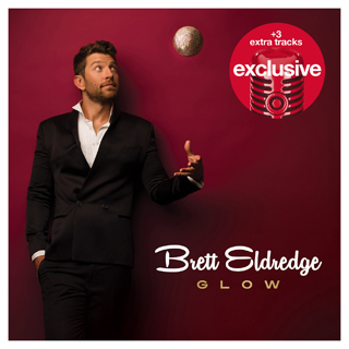 Brett Eldredge on the cover of his holiday album