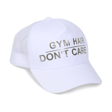 White gym hat