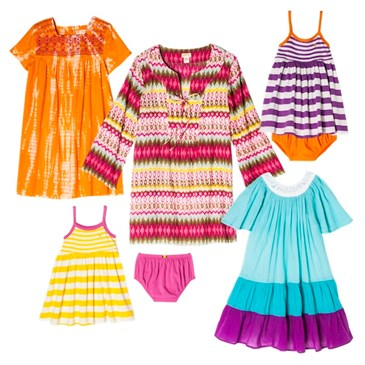 Various multi colored women and childrens Happy by Pink chicken clothing