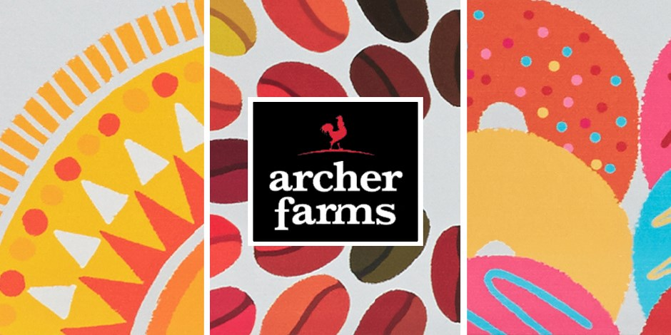 Trio of images from the Archer Farms coffee assortment