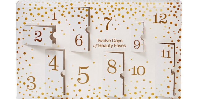 Inside look at the 12 Days of Beauty calendar