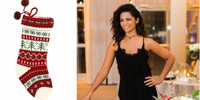 Camila Alves entertains for the holidays