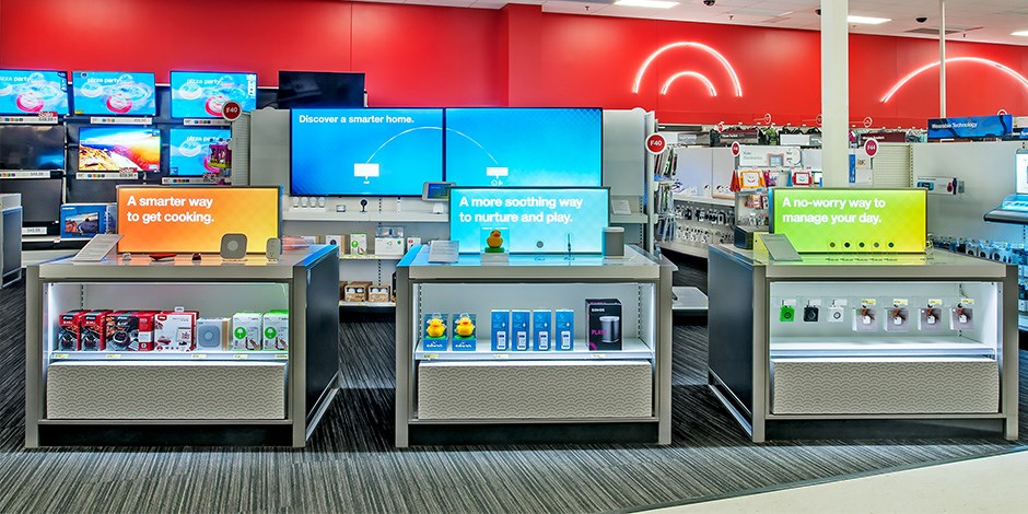 Ridgedale store showing connected home technology
