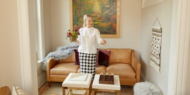 Emily Henderson styling decor pieces from Target's new fall home collections