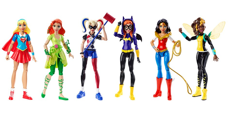 DC Comics Super Hero Girl Dolls