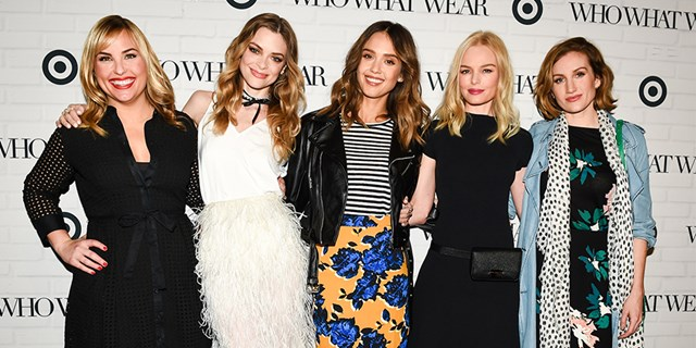 Jessica Alba, Jaime King, Kate Bosworth and Who What Wear Founders