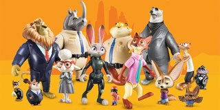 World of Zootopia action figures