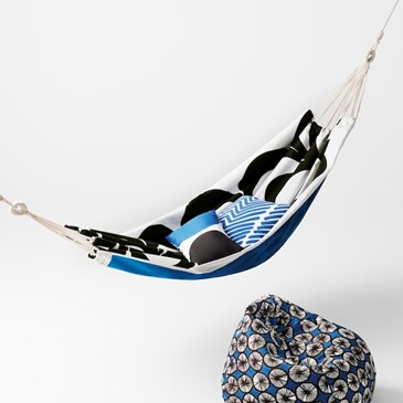 Marimekko for Target hammock and bean bag