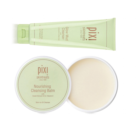 Pixi by Petra Glow Mud Cleanser and Nourishing Cleansing Balm