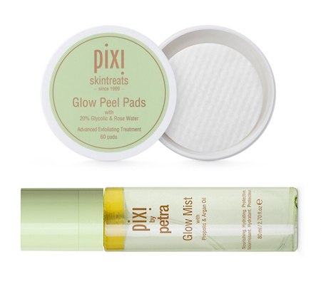 Pixi by Petra Glow Peel Pads and Glow mist