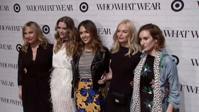 Celebs Step Out For the Who What Wear Launch at Target