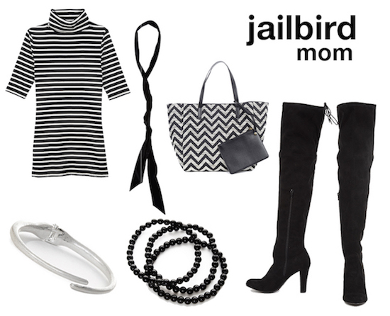 Jailbird outfit selects for mom