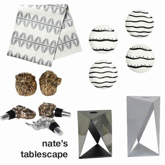 Nate Berkus' Thanksgiving tablescape product picks