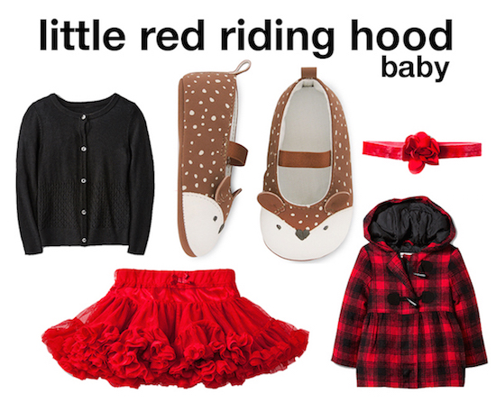Red riding hood baby selects