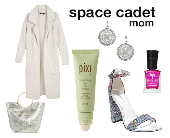 Space cadet outfit selects for mom