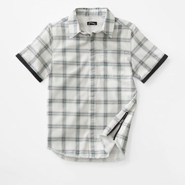 Art Class check short sleeve button down shirt