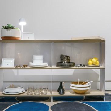 2 Shelf Set With Modern By Dwell Magazine Decor