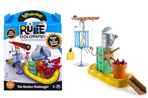 The Garden Challenge in it's packaging and set up