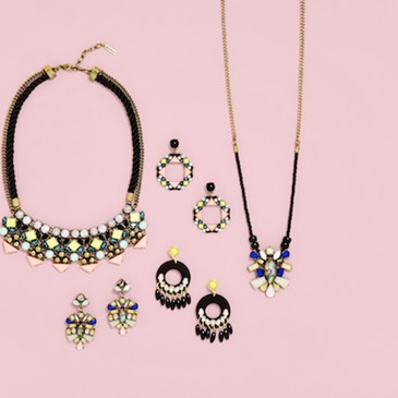 Necklaces and earrings from SUGARFIX