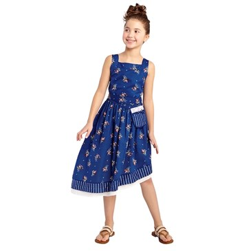 Girls' Beauty and the Beast Etoille Printed Dress