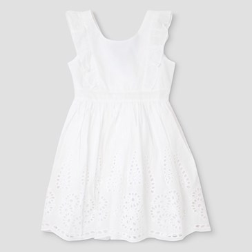 Baby & Toddler Girls' Beauty and the Beast Eyelet Dress