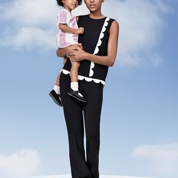 Mommy daughter outfits from the Victoria Beckham for Target collection