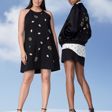 Insect patterned outfits from the Victoria Beckham for Target collection