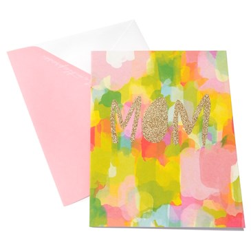 Colorful Thimblepress Mother's Day card