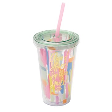 Thimblepress colorful travel cup