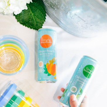 Simply Balanced sparkling water