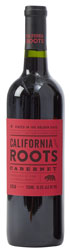 Bottle of California Roots Cabernet