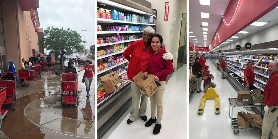 Target team members work to respond to Hurricane Harvey