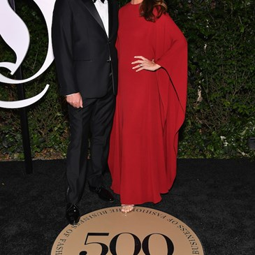 Mark Tritton and wife Bernadette Tritton arriving at the BoF 500 gala.