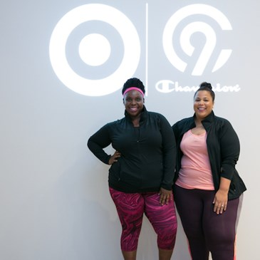 theCURVYcon founders CeCe Olisa and Chastity Garner.