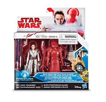 A 2-pack of action figures