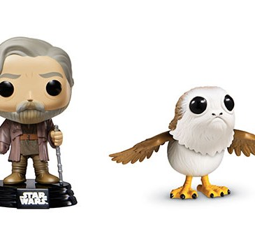 Two Funko Pop! figures