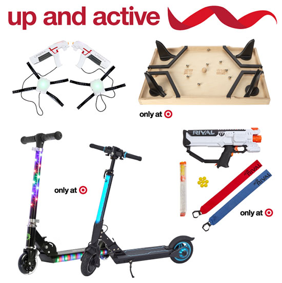 Four toys that encourage physical activity