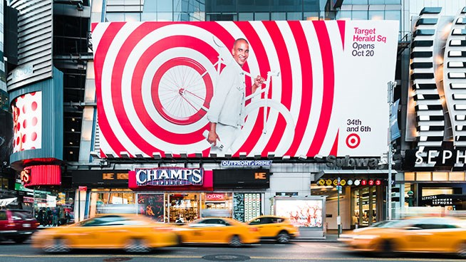 Welcome to Target Herald Square