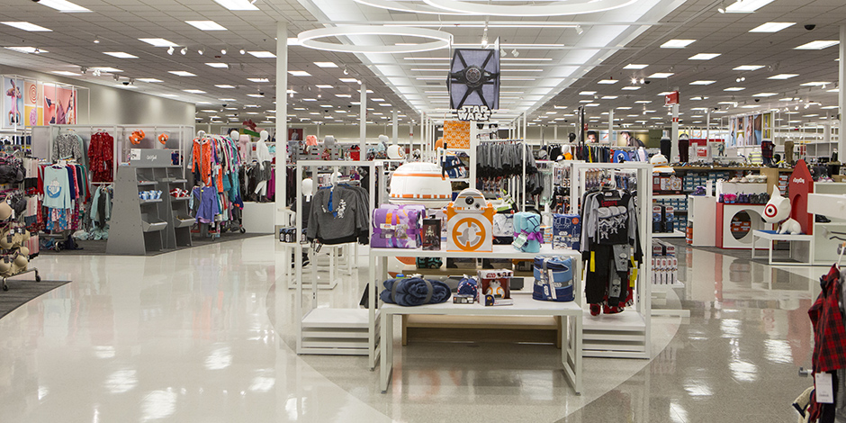 The curved sales floor in our new Richmond, TX, store