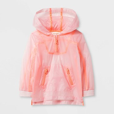 Light pink windbreaker
