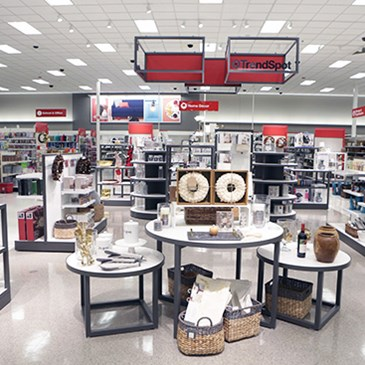 The Trend Spot area with product displays