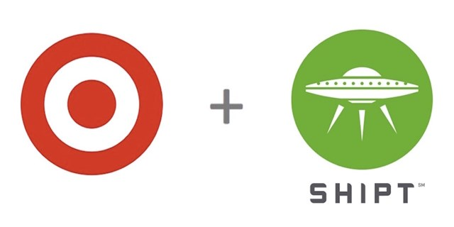 The Target and Shipt logos